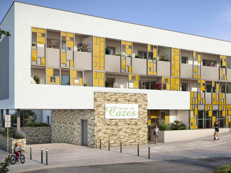 jardin de versant Castelnau-le-lez Montpellier crédit agricole urbanesens